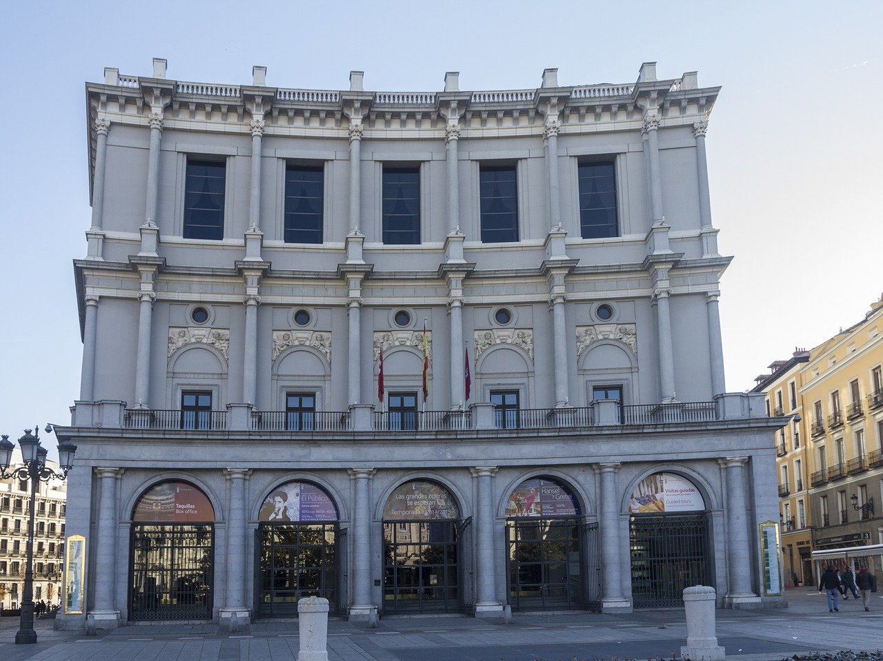 Teatro Real Madrid Espanha