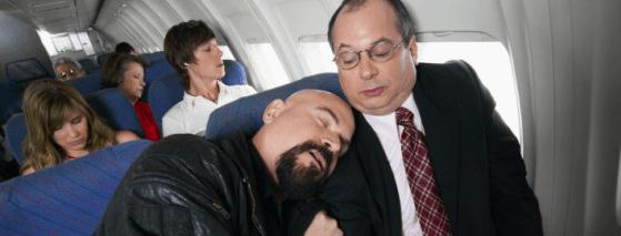dormir viagem aviao