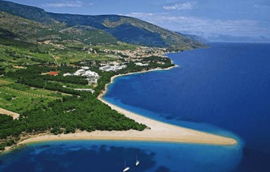 praias croacia