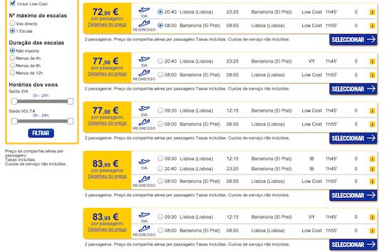oferta voos