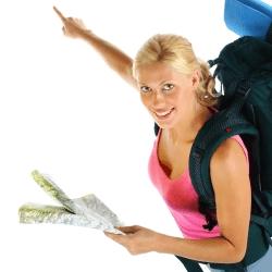 mulheres a viajar sozinhas