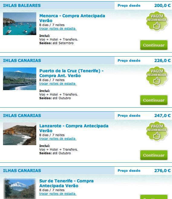 ferias ilhas espanholas low cost
