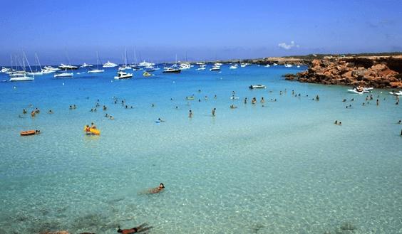 praias formentera
