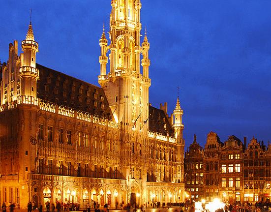 viagem low cost a Bruxelas