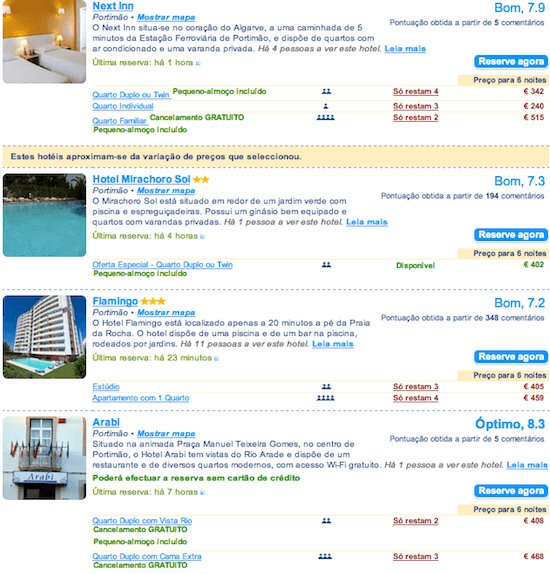hoteis baratos Portimao