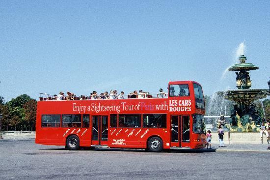 autocarro turistico paris