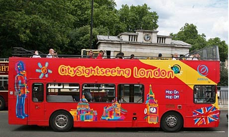bus turistico londres