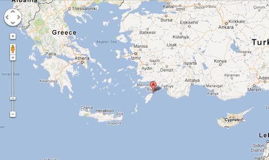 ilha de rodes na grecia