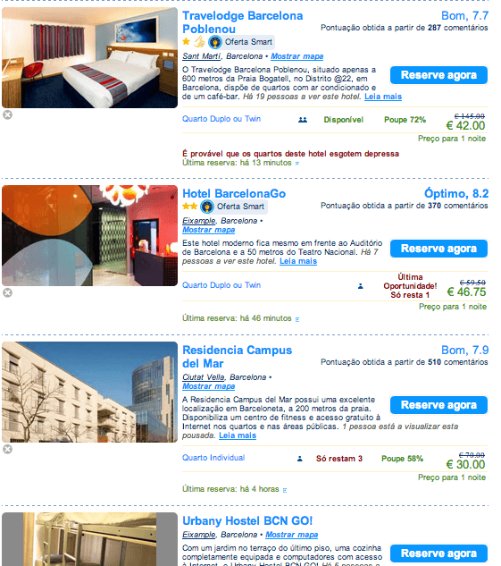 hoteis barcelona