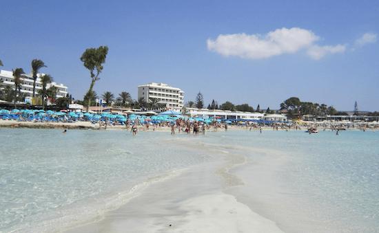 nissi beach chipre 2