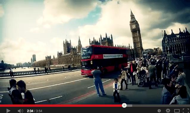 guia em video cidade de londres