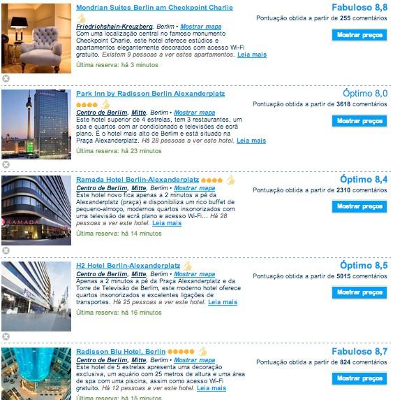 hoteis em Berlim