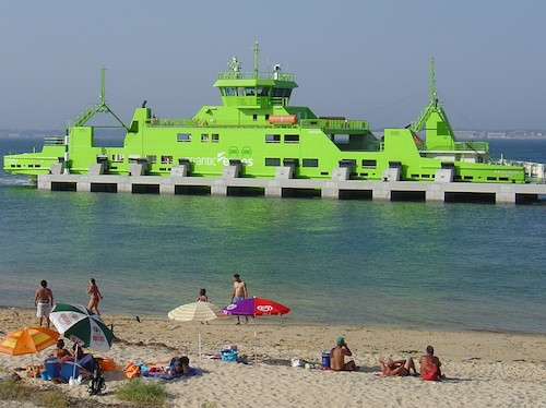 ferry troia