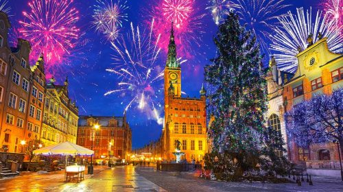 Gdansk, Passagem de Ano, Polónia