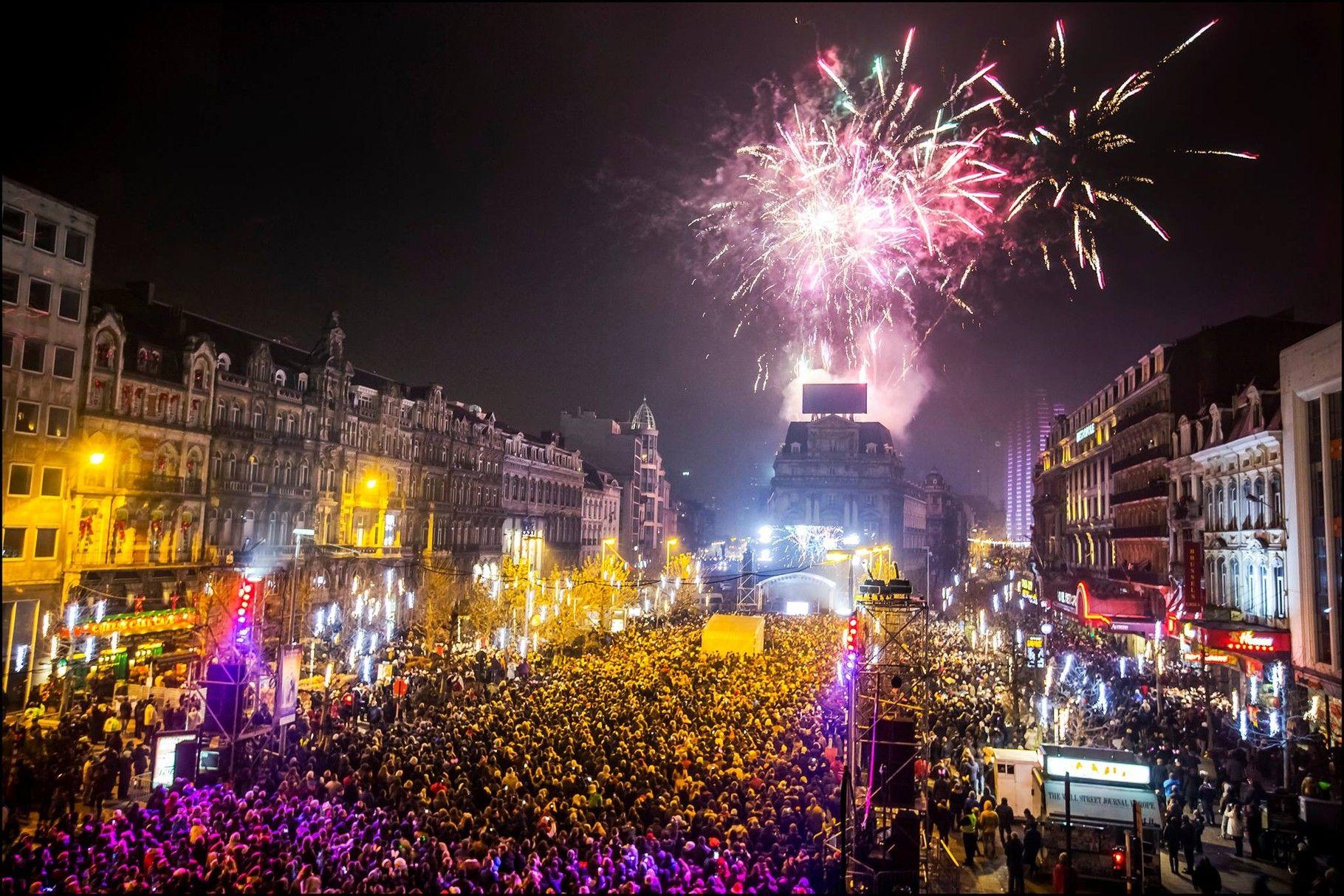 Bruxelas, Bélgica - Passagem de Ano