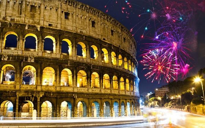 Roma, Itália - Passagem de Ano